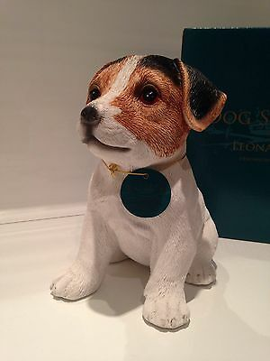 Jack Russell Puppy Love Dog Ornament Gift Figure Figurine*New in box*