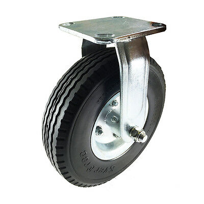 "8"" x 2-1/2"" Pneumatic Wheel Caster (Foam Flat-Free) - Rigid"