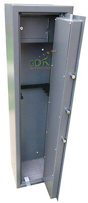 Gdk 5 Point Vault Locking 6 Gun Cabinet, Vault Locking System,shotgun/rifle,ammo