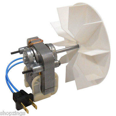 Bathroom Fan Electric Motor Replacement Kit Universal Assembly 110 115 120 Volts