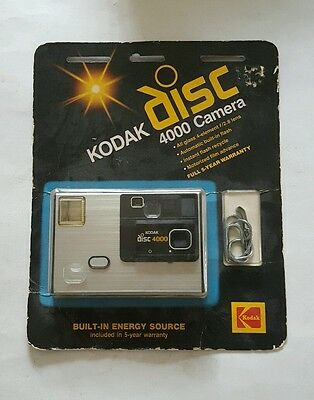 Kodak Disc 4000 Camera 1983 - New - Sealed - Fast Shipping