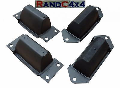 Land Rover Discovery Defender Front & Rear Axle Rubber Bump Stops