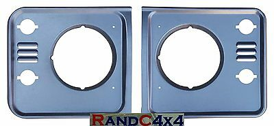 Land Rover Defender Td5 Headlight Surround Finisher Pair