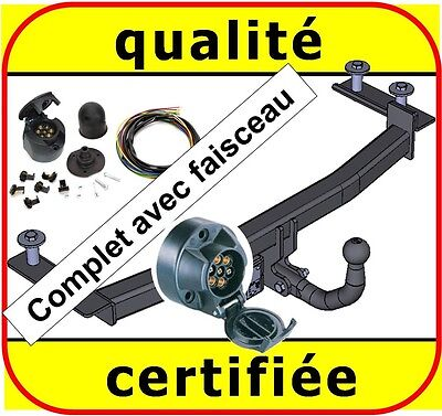 ATTELAGE remorque Ford Fiesta IV 1996 à 2002 + faisceau 7 broches complet / neuf