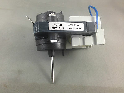 No Frost Fridge Freezer Evaporator Reversible  Fan Motor JO3RF03-1  CCW