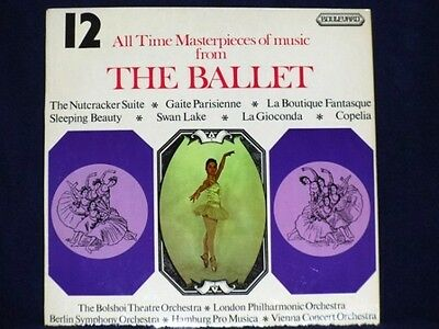 12 ALL TIME MASTERPIECES OF MUSIC FROM THE BALLET various LP PS EX/EX uk 4020