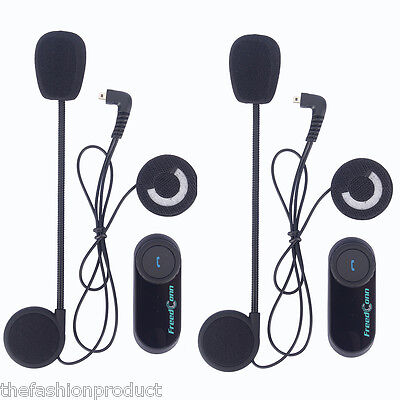 2X Auto Switch Bluetooth intercomunicador Moto Interfono Inalámbrico Auriculares