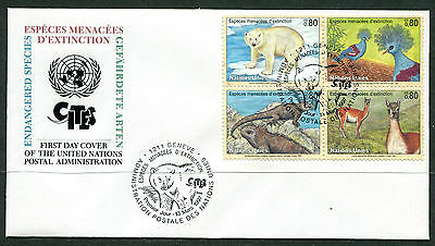 United Nations Geneva 1997 Endangered Species FDC