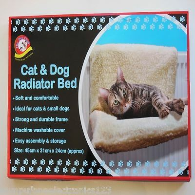 Cat Kitten And Small Dog Radiator Bed - Cosy Cat Sleeping Bed