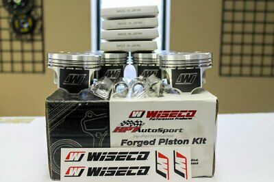 Mazda Mazdaspeed 3/6 2.3L Mzr Disi -13.3Cc Dish Wiseco K640M875 Forged Pistons