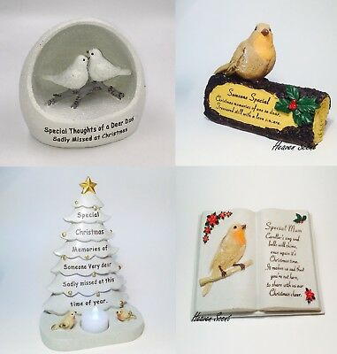 Christmas Grave Memorial Ornament For Mum Dad Friend Nan Grandad Grandma
