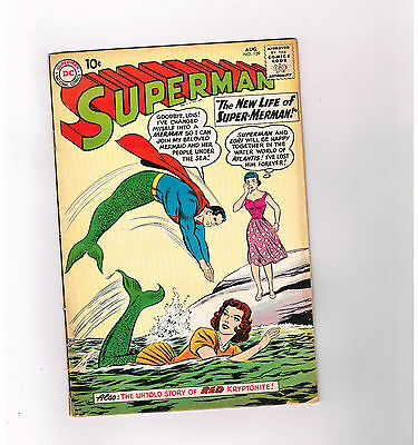 SUPERMAN (V1) #139 Wonderful Silver Age find from DC Comics!