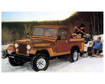1982 Jeep Scrambler Factory Photo ca3151