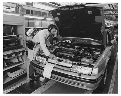 1989 Rover 800 Automobile Factory Photo ch8786