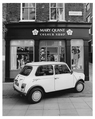 1988 Austin Mini Limited Edition Automobile Factory Photo ch8803