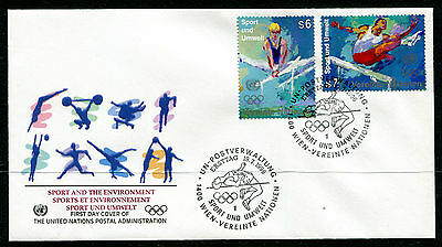 United Nations Vienna 1996 Olympic Games FDC