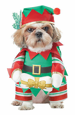 Santa Elf Pup Christmas Helper Dog Pet Costume