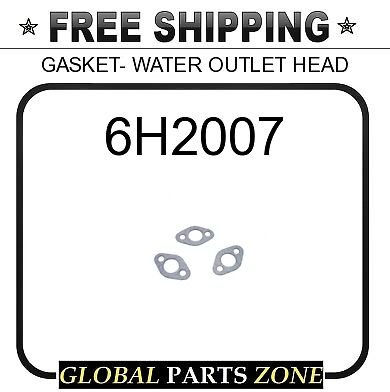 6H2007 - GASKET- WATER OUTLET HEAD 5H2537 for Caterpillar (CAT)