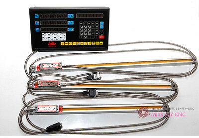 3 AXIS DIGITAL READOUT and Linear scale linear encode  for milling machine