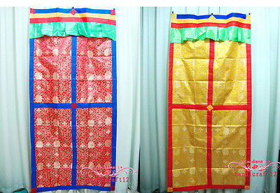 Tibet Tibetan traditional Door Curtain Brocade Hand Made curtain