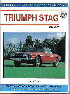 Triumph Stag 1970-77 Choice Purchase Performance Advice & Data for buyers Taylor