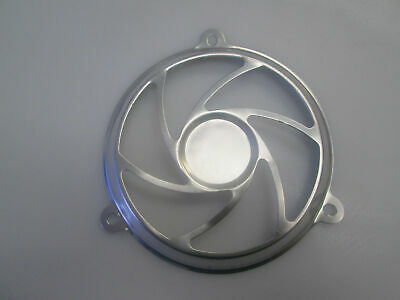 150cc GY6  157QMJ Engine Fan Decoration Cover in SILVER Chinese Gas Scooters