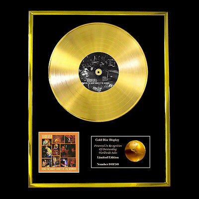 Nirvana From The Muddy Banks Of The Wishkah   Cd  Gold Disc Free P+P!!
