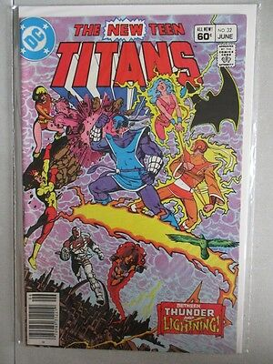 New Teen Titans (1980-1984) #32 NM-