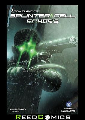 TOM CLANCY SPLINTER CELL ECHOS GRAPHIC NOVEL New Paperback Collects Issues #1-4