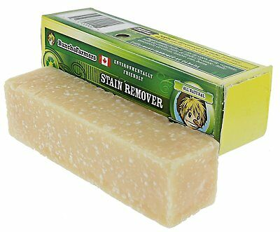 Buncha Farmers All Natural STAIN REMOVER Cleans Clothes Carpets & More - 1 STICK