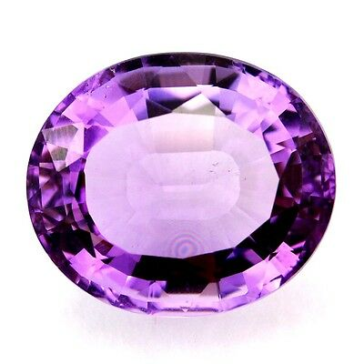 16.09 ct Natural Amethyst Faceted ( Untreated ) Mogok / L8205