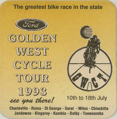 Vintage Coaster: Ford Golden West Cycle Tour, 1993.