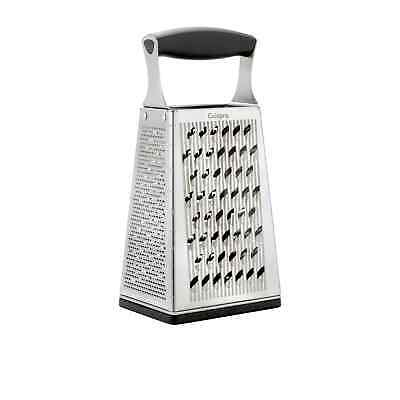 NEW Cuisipro Accutec 4 Sided Box Grater w/ Ginger Grater (RRP $60)