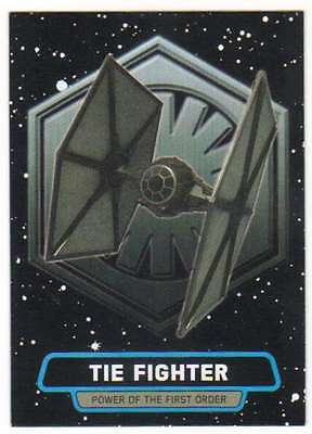2015 Star Wars Journey To The Force Awakens Power First Order 7 Tie Fighter
