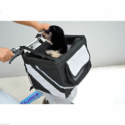 PawHut Dog Pet Car Seat Travel Bike Bicycle Portable Carrier Bag Tote Soft Sided