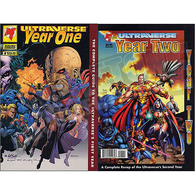 Ultraverse Year One & Two Set Vf-Nm
