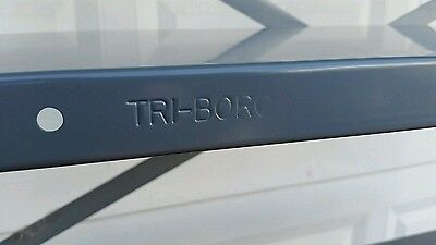 "Tri Boro Steel Shelf Heavy Duty Metal Shelves and clips 12"" X 36"" 10 pcs."