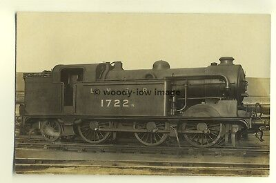 ry424 - LNER Railway Engine no 1722 - postcard