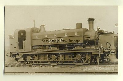 ry427 - LNER Railway Engine no 1058 - postcard