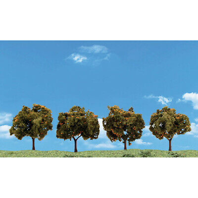NEW Woodland Scenics Orange Trees 2 -3  (4) TR3592