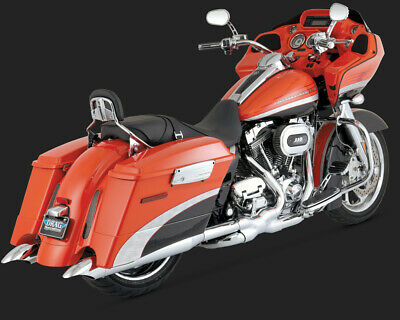 Vance & Hines TURNDOWN SLIP-ON TOURING 09-15