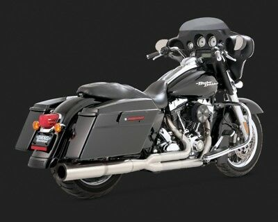 Vance & Hines STAINLESS HI-OUTPUT 2-1 TOURING 09-15