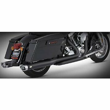 Vance & Hines DRESSER DUALS BLACK TOURING 95-06 (WILL BECOME V46799)