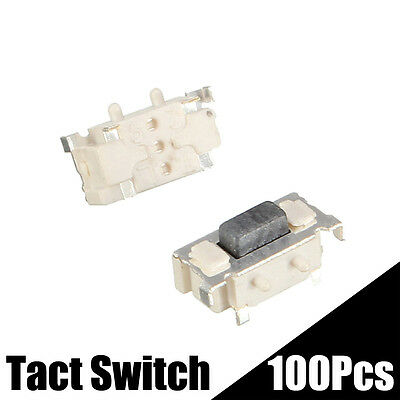 100Pcs 3x6x3.5mm DC12V SMT SMD Momentary  Micro Tact Tactile Push Button Switch