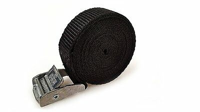 25 Buckled Straps 25mm Cam Buckle 2.5 meters Long Heavy Duty Load Securing