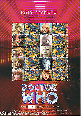 BC-044 - Doctor Who - Katy Manning Smilers Sheet - Signee by KATY MANNING !!