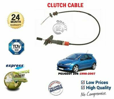 For Peugeot 206 1.1 1.4 1.6 1998--> New Clutch Cable