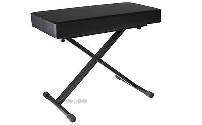 Boost Industries APKB-100 Piano Bench (Black). NEW!!! Height Adjustable!