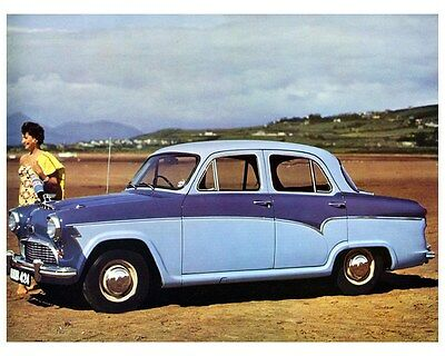 1958 Austin A55 Saloon Factory Photo ca3205