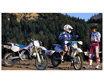 1992 Yamaha WR250Z & WR200R Motorcycles Factory Photo ca3219